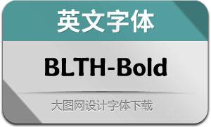 BLTHeirloom-Bold(英文字体)
