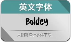 Boldey(英文字体)