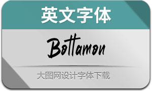 Bottamon(英文字体)