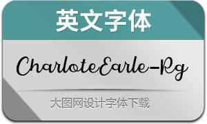 CharloteEarle(英文字体)