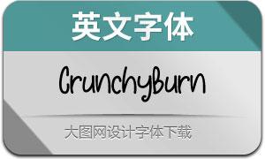 CrunchyBurn(英文字体)