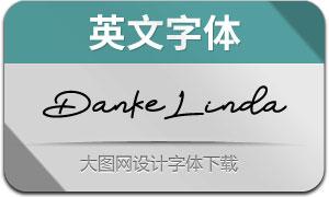 DankeLinda(英文字体)