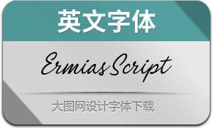 ErmiasScript(英文字体)