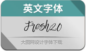 Fresh2.0-Regular(英文字体)