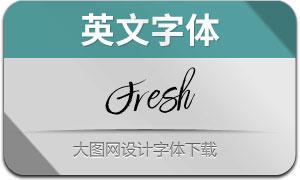 Fresh-Regular(英文字體)