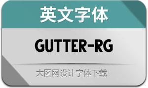 Gutter-Regular(英文字體)