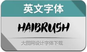 HaiBrush(英文字体)