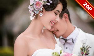 影楼外景主题婚纱摄影高清样片V02