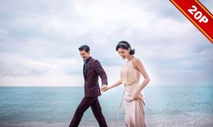 影楼外景主题婚纱摄影高清样片V04