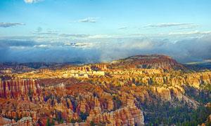 美国岩石峡谷景高清观摄影图片