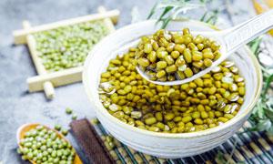 夏季解暑绿豆汤美食甜品摄影图片