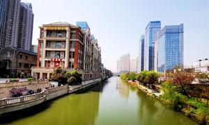 武汉楚河汉街美景摄影图片