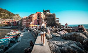 欧式小岛风情高清摄影图片