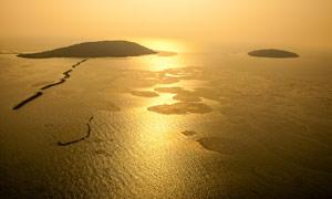 太湖仙境三山島高清攝影圖片