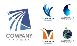 字母图形元素灵感创意标志矢量素材