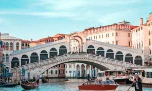威尼斯水上城市摄影图片