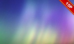 炫麗夢幻極光主題背景高清圖片集V2