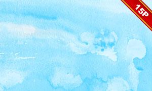 藍色水彩元素主題背景高清圖片集V1