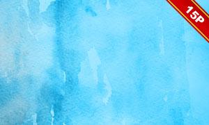 藍色水彩元素主題背景高清圖片集V2