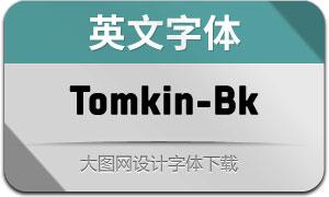 Tomkin-Black(英文字体)