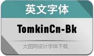 TomkinCn-Black(英文字体)