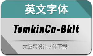 TomkinCn-BlackItalic(英文字体)