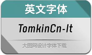 TomkinCn-Italic(英文字体)