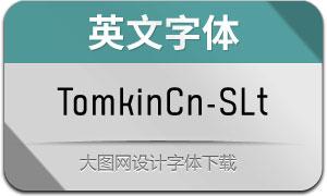 TomkinCn-SemiLight(英文字体)