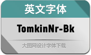 TomkinNr-Black(英文字体)
