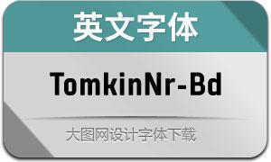 TomkinNr-Bold(英文字体)