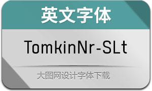 TomkinNr-SemiLight(英文字体)
