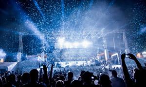 大型演出现场灯光照明效果高清图片
