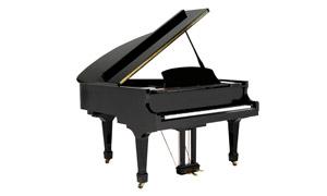 白底黑色钢琴主题特写摄影高清图片