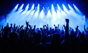 激情演出现场观众人物摄影高清图片