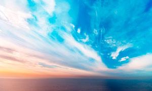碧海蓝天美丽景观高清摄影图片