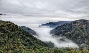 台湾山区美丽景观摄影图片