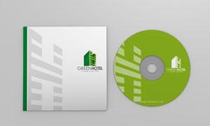 光盘封套与封面效果应用模板文件