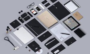 多种企业视觉元素样机模板分层素材