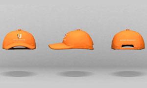 三个角度的帽子应用展示模板源文件