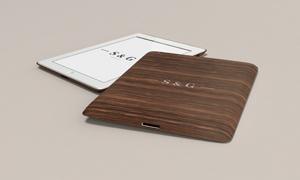 木纹质感平板电脑保护套样机源文件