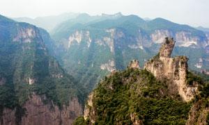 太行山八泉峡大峡谷景观摄影图片