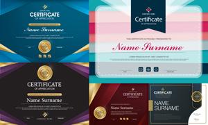多种多样的授权书与证书等素材V123
