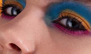 彩妆美甲美女人像摄影高清原片素材