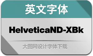HelveticaNowDisp-XBk(英文字体)