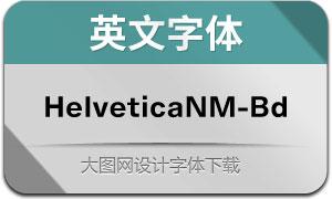 HelveticaNowM-Bd(英文字体)