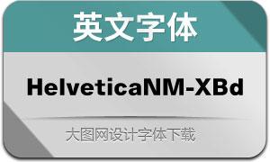 HelveticaNowM-XBd(英文字体)