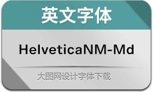 HelveticaNowM-Md(英文字体)