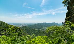大慈岩山中风景摄影图片