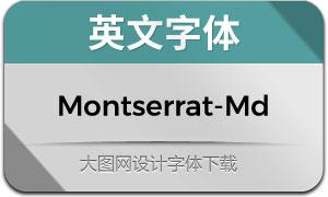 Montserrat-Medium(英文字体)