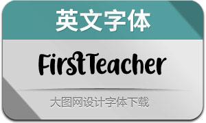 FirstTeacher(英文字体)